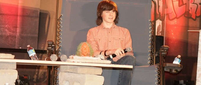 Walker Stalker Con Atlanta 2014: Chandler Riggs and Madison Lintz [VIDEO and PHOTOS]