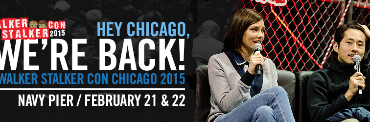 Walker Stalker Con Chicago Is Next Month and We'll Be There!