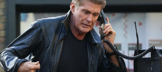 """David Hasselhoff To Star As Ian Ziering's Father in Syfy's """"Sharknado 3"""""""