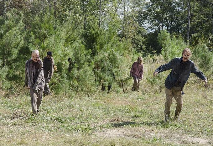 Walkers - The Walking Dead _ Season 5, Episode 14 - Photo Credit: Gene Page/AMC