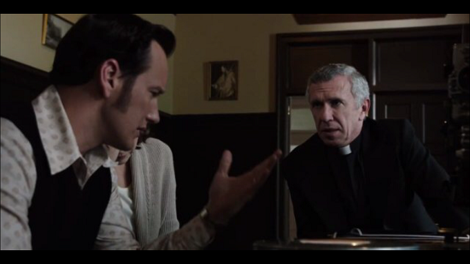 Steve Coulter as Father Gordon in The Conjuring