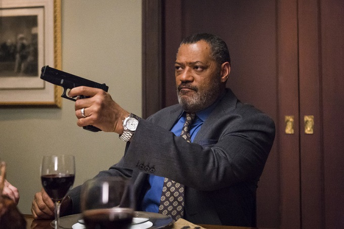 "HANNIBAL -- ""Aperitivo"" Episode 304 -- Pictured: Laurence Fishburne as Jack Crawford -- (Photo by: Brooke Palmer/NBC)"