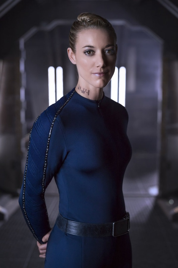 DARK MATTER -- Season:1 -- Pictured: Zoie Palmer as The Android -- (Photo by: Dennys/Ilic/Syfy)