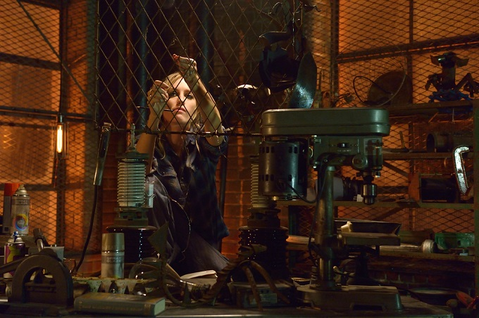 "THE STRAIN -- ""BK, NY"" -- Episode 201 (Airs July 12, 10:00 pm e/p) Pictured: Ruta Gedmintas as Dutch Velders. CR: Michael Gibson/FX"