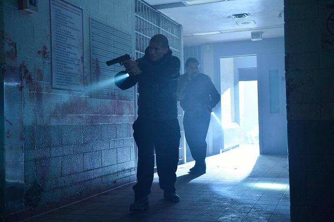 "THE STRAIN -- ""Fallen Light"" -- Episode 212 (Airs September 27, 10:00 pm e/p) Pictured: (l-r) Miguel Gomez as Augustin Elizade, Joaquin Cosio as Angel Guzman Hurtado. CR: Michael Gibson/FX"