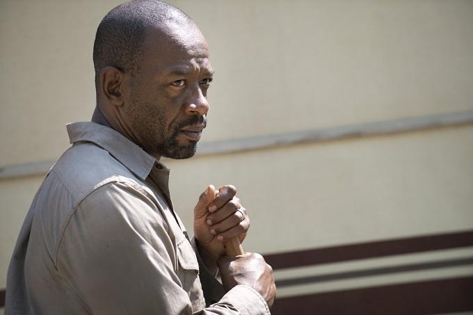 Lennie James as Morgan - The Walking Dead _ Season 6, Episode 1 - Photo Credit: Gene Page/AMC