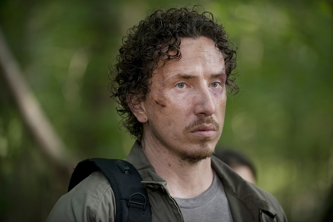 Michael Traynor as Nicholas - The Walking Dead _ Season 6, Episode 3 - Photo Credit: Gene Page/AMC