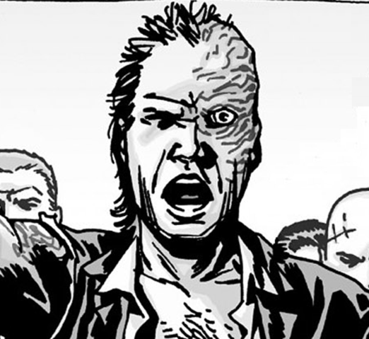 The Walking Dead comics' Dwight