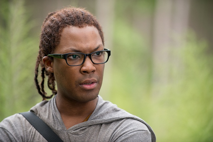 Corey Hawkins as Heath - The Walking Dead _ Season 6, Episode 12 - Photo Credit: Gene Page/AMC