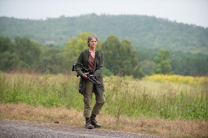 Melissa McBride as Carol Peletier - The Walking Dead _ Season 6, Episode 11 - Photo Credit: Gene Page/AMC