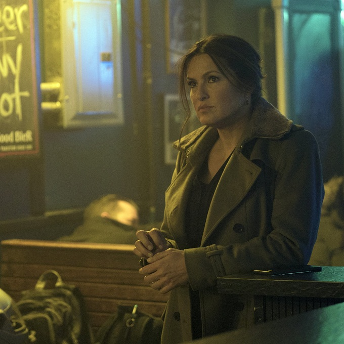 "LAW & ORDER: SPECIAL VICTIMS UNIT -- ""Manhattan Transfer"" Episode 1717 -- Pictured: Mariska Hargitay as Olivia Benson -- (Photo by: Michael Parmelee/NBC)"