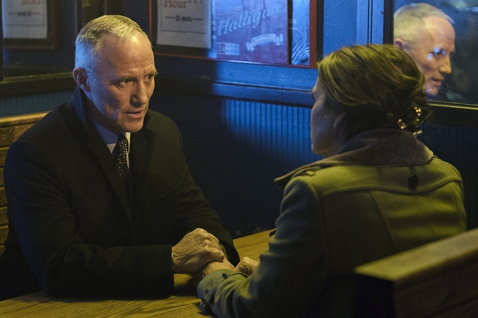 "LAW & ORDER: SPECIAL VICTIMS UNIT -- ""Manhattan Transfer"" Episode 1717 -- Pictured: Robert John Burke as Capt. Ed Tucker -- (Photo by: Michael Parmelee/NBC)"