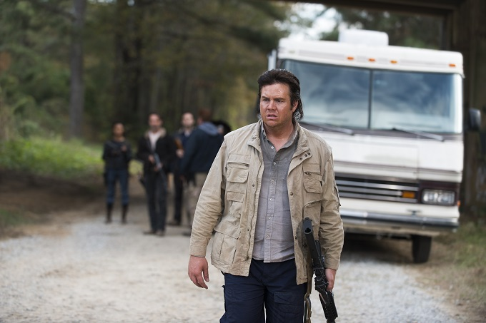 Josh McDermitt as Dr Eugene Porter; Andrew Lincoln as Rick Grimes; Sonequa Martin-Green as Sasha - The Walking Dead _ Season 6, Episode 16 - Photo Credit: Gene Page/AMC
