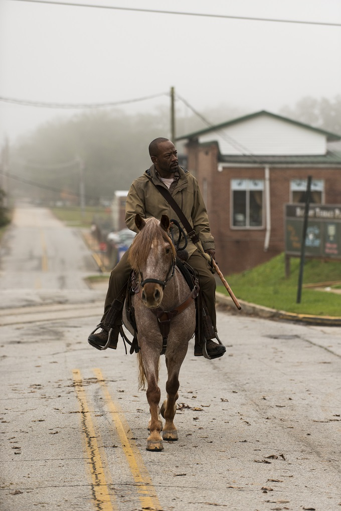 Lennie James as Morgan Jones - The Walking Dead _ Season 6, Episode 15 - Photo Credit: Gene Page/AMC