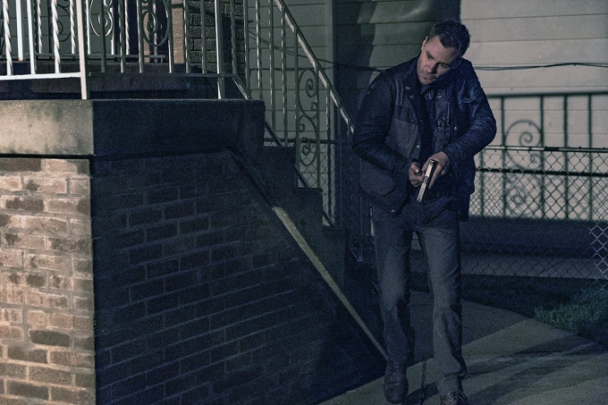 "CHICAGO P.D. -- ""Start Digging"" Episode 323 -- Pictured: Patrick John Flueger as Officer Adam Ruzek -- (Photo by: Matt Dinerstein/NBC)"