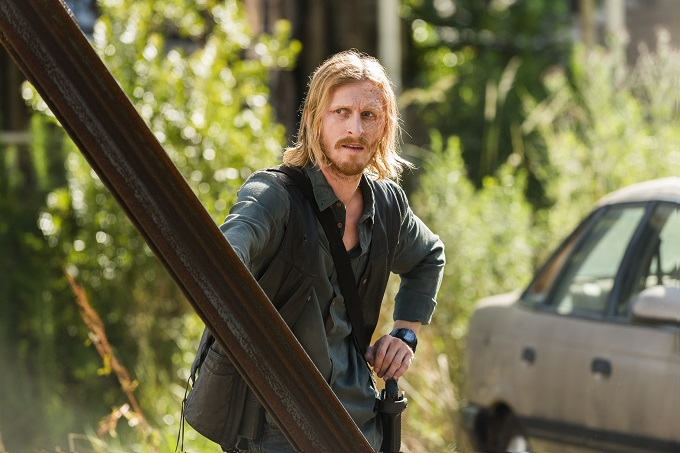 Austin Amelio as Dwight - The Walking Dead _ Season 7, Episode 4 - Photo Credit: Gene Page/AMC