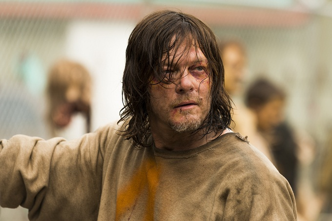 Norman Reedus as Daryl Dixon - The Walking Dead _ Season 7, Episode 7 - Photo Credit: Gene Page/AMC
