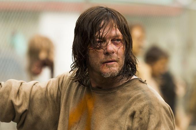 Norman Reedus as Daryl Dixon- The Walking Dead _ Season 7, Episode 7 - Photo Credit: Gene Page/AMC