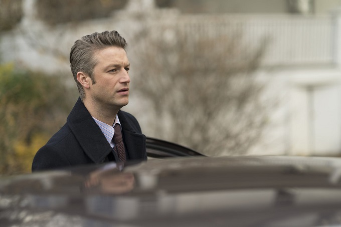 "LAW & ORDER: SPECIAL VICTIMS UNIT -- ""Next Chapter"" Episode 1812 -- Pictured: Peter Scanavino as Dominick ""Sonny"" Carisi -- (Photo by: Michael Parmelee/NBC)"