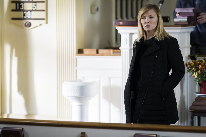 "LAW & ORDER: SPECIAL VICTIMS UNIT -- ""Next Chapter"" Episode 1812 -- Pictured: Kelli Giddish as Detective Amanda Rollins -- (Photo by: Michael Parmelee/NBC)"