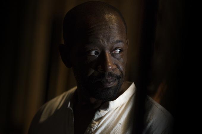 Lennie James as Morgan Jones- The Walking Dead _ Season 7, Episode 10 - Photo Credit: Gene Page/AMC