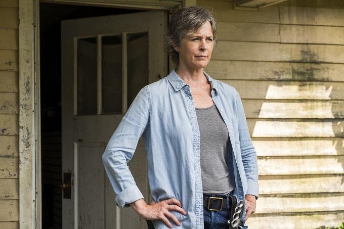 Melissa McBride as Carol Peletier- The Walking Dead _ Season 7, Episode 10 - Photo Credit: Gene Page/AMC