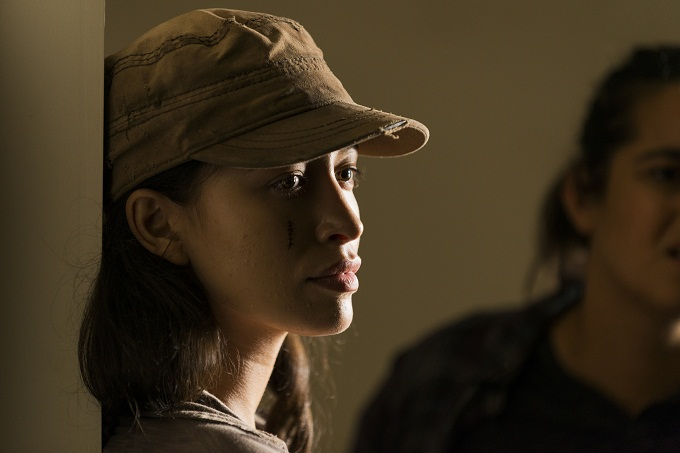 Christian Serratos as Rosita Espinosa- The Walking Dead _ Season 7, Episode 9 - Photo Credit: Gene Page/AMC