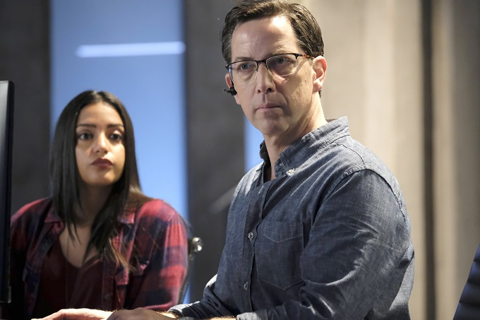 "24: LEGACY: L-R: Coral Peña and Dan Bucatinsky in the ""3:00 PM-4:00 PM"" episode of 24: LEGACY airing Monday, Feb. 20 (8:00-9:01 PM ET/PT) on FOX. ©2017 Fox Broadcasting Co. Cr: Guy D'Alema/FOX"