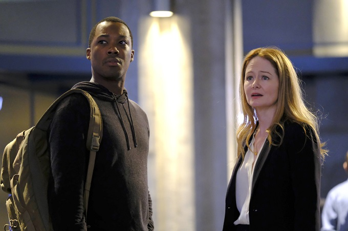 "24: LEGACY: L-R: Corey Hawkins and Miranda Otto in the ""3:00 PM-4:00 PM"" episode of 24: LEGACY airing Monday, Feb. 20 (8:00-9:01 PM ET/PT) on FOX. ©2017 Fox Broadcasting Co. Cr: Guy D'Alema/FOX"