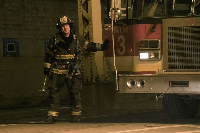 "CHICAGO FIRE -- ""Deathtrap"" Episode 516 -- Pictured: Taylor Kinney as Kelly Severide -- (Photo by: Elizabeth Morris/NBC)"