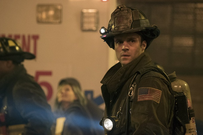 "CHICAGO FIRE -- ""Deathtrap"" Episode 516 -- Pictured: Jesse Spencer as Matthew Casey -- (Photo by: Elizabeth Morris/NBC)"