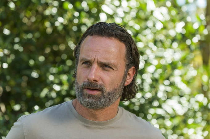 Andrew Lincoln as Rick Grimes - The Walking Dead _ Season 7, Episode 12 - Photo Credit: Gene Page/AMC